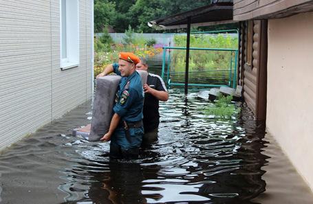 Паводок в Хабаровском крае. Август, 2019 года.
