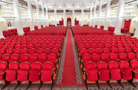 Колонный зал Дома союзов.
