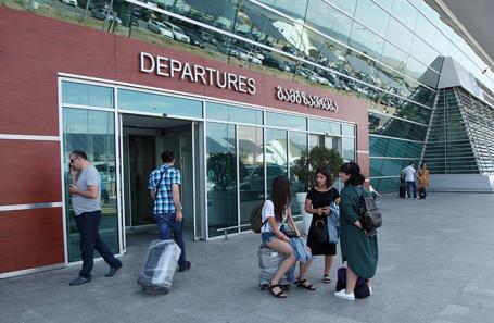 Аэропорт в Тбилиси.