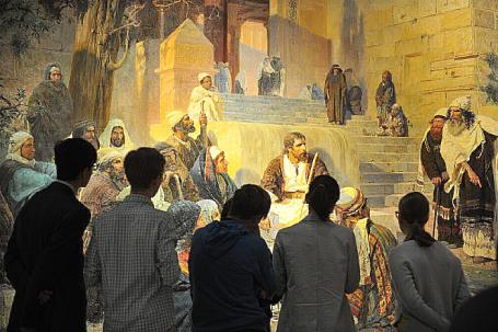 Выставка Василия Поленова в Третьяковской галерее.