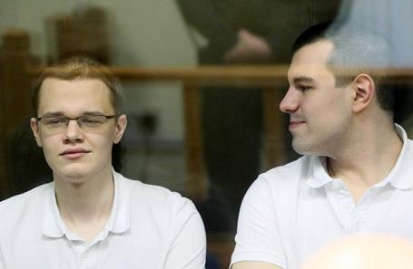Вячеслав Крюков и Руслан Костыленков (слева направо).