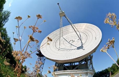 Телескоп радиоастрономической обсерватории ФИАН.