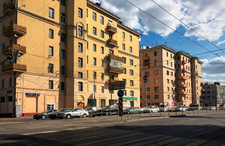 Жилой квартал в стиле конструктивизма «Жилмассив Русаковский».