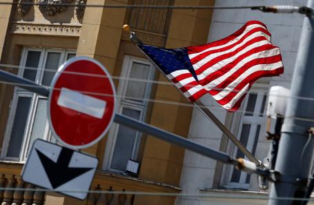 Посольство США в Москве.