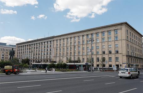 Здание Минэкономразвития России на 1-й Тверской-Ямской улице.
