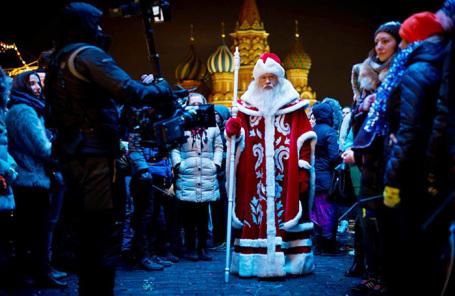 Кадр из фильма «Дед Мороз. Битва магов».