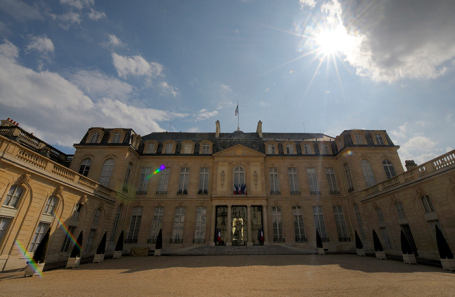 Елисейский дворец, Париж.