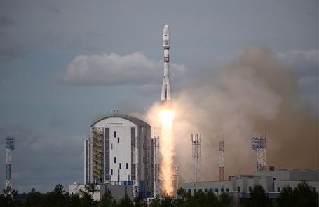 Пуск ракеты на космодроме Восточный.