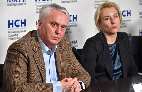 Михаил Каабак и Надежда Бабенко.