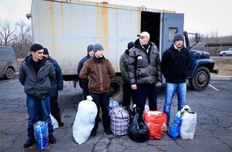 Обмен пленными между Киевом, ДНР и ЛНР. Архивное фото.