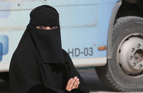 На улицах Эр-Рияда.