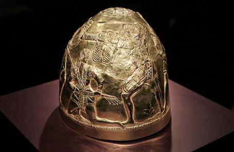 Один из артефактов скифского золота, находящийся в Нидерландах.