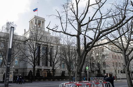 Посольство России в Берлине.