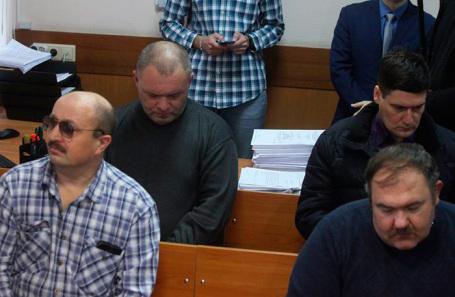 Вынесение приговора конвоирам по делу о попытке побега членов «банды GTA» из Мособлсуда. 9 декабря 2019 года
