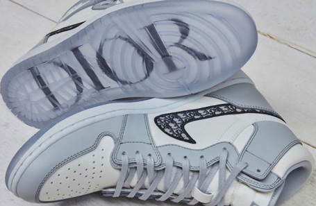 Nike Dior х Air Jordan 1.