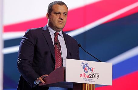 Генеральный секретарь Федерации бокса России Умар Кремлев.