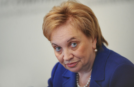 Глава Мосгорсуда Ольга Егорова.