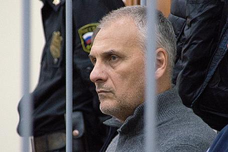 Бывший губернатор Сахалинской области Александр Хорошавин.