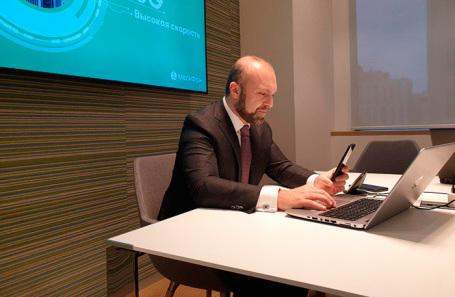 Генеральный директор «Мегафона» Геворк Вермишян.