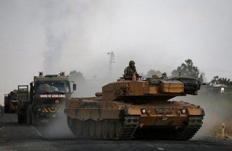 Турецкая военная техника. Архивное фото.