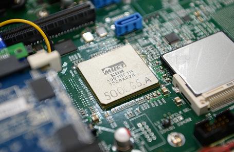 Сервер на процессоре «Эльбрус». Архивное фото.