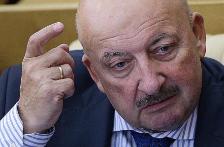 Один из авторов законопроекта, депутат Госдумы Гаджимет Сафаралиев.