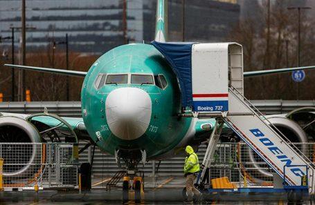 Boeing 737 MAX. Рентон. Вашингтон, США.