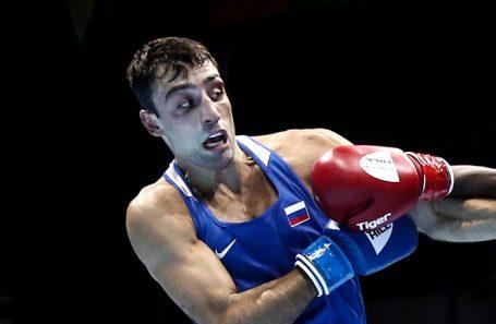 Георгий Кушиташвили на Открытом чемпионате мира по боксу в Екатеринбурге. Сентябрь, 2019 года.