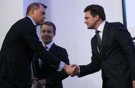 Дмитрий Страшнов и Николай Подгузов.
