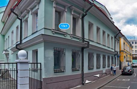 Особняки в Большом Палашевском переулке, которые хотят снести.
