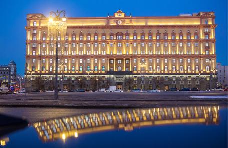 Здание ФСБ в Москве.
