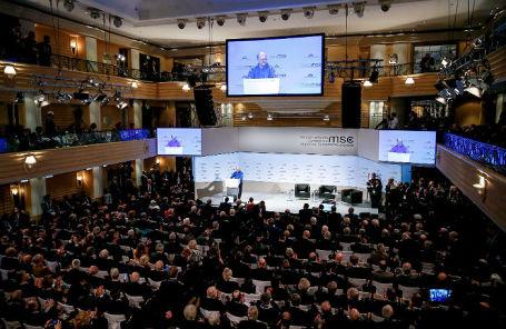 На Мюнхенской конференции по безопасности, 2019 год.