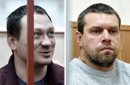 Игорь Ляховец и Денис Коновалов (справа).