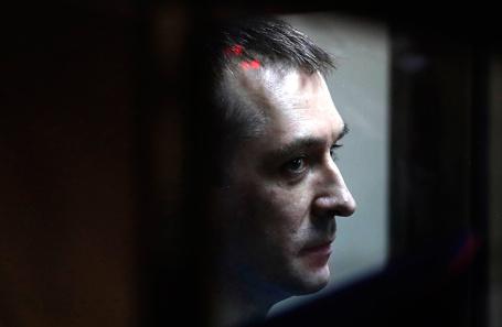 Бывший заместитель начальника управления «Т»  МВД России полковник Дмитрий Захарченко.