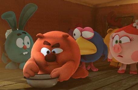 Кадр из мультфильма «Смешарики».