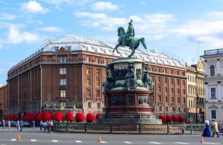 Гостиница «Астория» в Санкт-Петербурге.