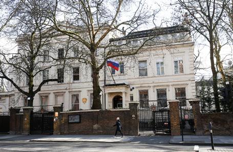 Посольство России в Лондоне.
