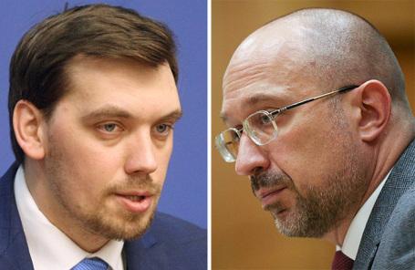 Алексей Гончарук и Денис Шмыгаль (слева направо).