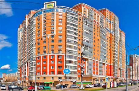 Дом по адресу Мичуринский проспект, 34 в Москве.