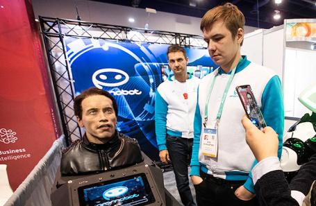 Выставка потребительской электроники CES 2020 в Лас-Вегасе. Январь 2020 года.