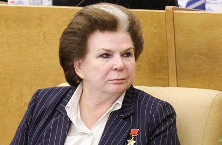Валентина Терешкова.