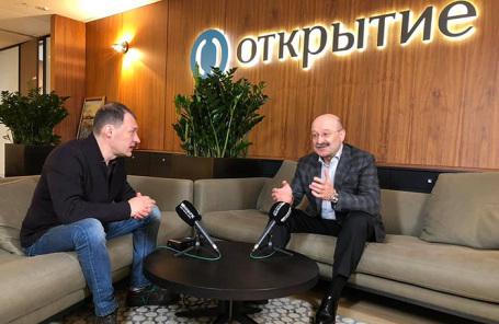 Илья Копелевич и Михаил Задорнов.