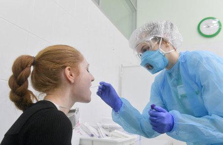 Тестирование в одной из московских лабораторий.