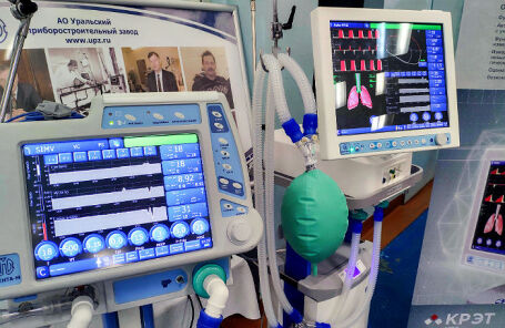 Аппарат искусственной вентиляции легких «Авента-М».