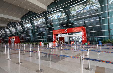 Аэропорт в Дели, Индия.