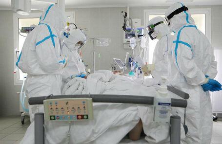 Работа стационара по борьбе с коронавирусной инфекцией на базе Медицинского научно-образовательного центра МГУ имени Ломоносова.