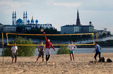 Казань во время ослабления режима самоизоляции.