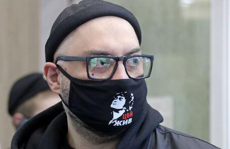 Режиссер Кирилл Серебренников перед заседанием Мещанского суда по делу «Седьмой студии».
