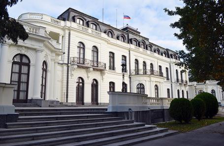 Посольство России в Чехии.