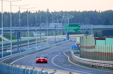 Участок трассы М-11.